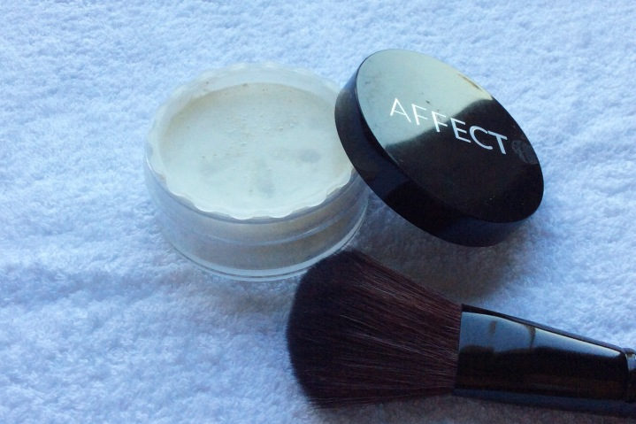 Matt effect transparant Loose Powder